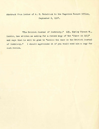 34 abstract from letter if a.h. estabrook to the eugenics record office 9.6.1917 thumb